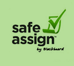 safe assign by Blackboard Logo Image